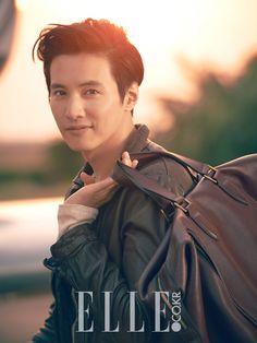 Won Bin - Elle Magazine June Issue '14