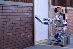 Thrills and spills as world's best robots take each other on