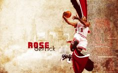 derrick rose wallpaper widescreen