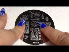 MESSY MANSION - LOOKBOOK - Double Processing Hearts Nail Art Stamping - YouTube
