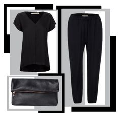 """""""Classic black."""" by juliaoha on Polyvore"""