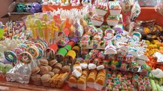 Dulces Feria del Alfeñique