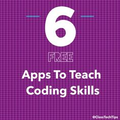 Teaching coding in your classroom is very exciting to most teachers. These 6 free coding apps are a great way to start teaching your students code.