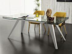 Calligaris: tavoli in cristallo - Tower Glass | Acrylic table ...