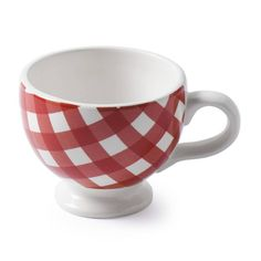 At Home with Marieke Mug Livia Red 200ml