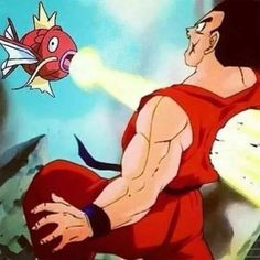 11 Funny Dragon Ball Z Memes: Even Magikarp Can Defeat Yamcha http://anime.about.com/od/toppicks/ss/These-Dragon-Ball-Z-Memes-Are-Hilarious.htm