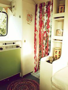 Caravan - Lander Graziella 340 - gepimpt interieur