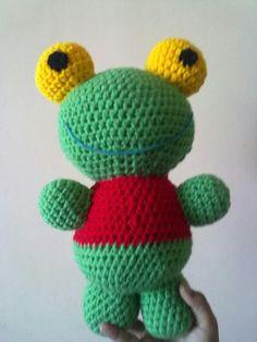 Sapo pepe crochet