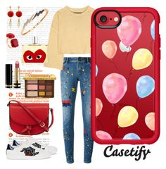"""""""Balloons in the air"""" by casetify ❤ liked on Polyvore featuring Alice + Olivia, Gucci, KC Jagger, Les Néréides, Bee Goddess, adidas Originals, Casetify and Comme des Garçons"""
