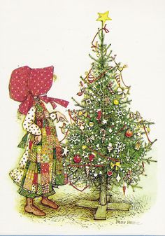 Holly Hobbie.   This SOOOO reminds me of my childhood