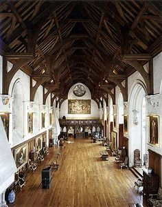 Arundel Castle Baron's Hall, West Sussex