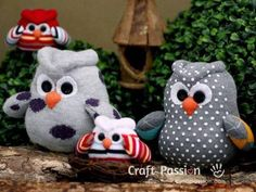 Sock Owl Craft With Easy To Follow Video