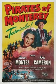 1947 movie posters | movie posters (1947) → Pirates of Monterey movie poster (1947 ...