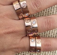 Wedding rings, wedding accessories, fifties glamour, accessories, style, fashion inspiration, rose gold, cartier, kylie jenner, kendal jenner, free shipping.