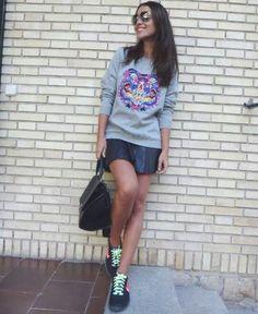Sporty chic. Paula echevarria