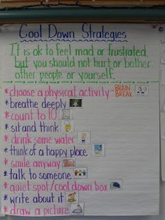 cool down strategies/ try for opposotion defying kids, great, include stretches