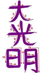 Reiki - 04 Dai Koo Myo Simbolos Do Reiki, Usui Reiki, Reiki Room, Learn Reiki, Reiki Healer, Was Ist Reiki, Vishuddha Chakra, Reiki Courses, Massage Therapy