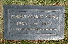Robert Young (1907 - 1998) Actor. In a career that lasted over fifty years, Robert Young performed on stage, screen and radio, appearing in some 100 movies before making a successful transition to television. (Marcus Welby M.D.)