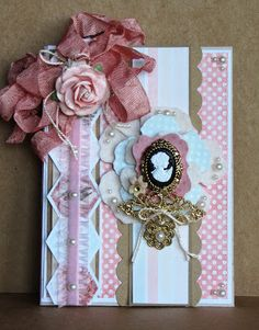 The ribbon & cameo is gorgeous on this!!!