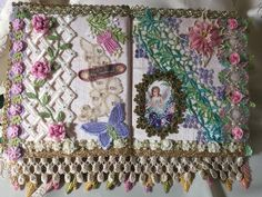 Fabric journal by Jean Wragg