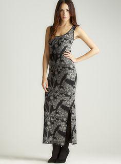 Gem-Jacquard Belted Maxi Dress