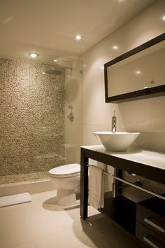 Doorless Shower Design Ideas, Pictures, Remodel, and Decor - page 6