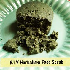 DIY Herbalism Face Scrub. It's almost like the one Lush sells, except a lot cheaper!