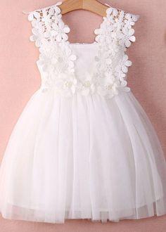 Vestido Branco e Lilás - 2/3 anos - - - - - baby - infant - toddler - kids - clothes for girls - - - https://www.facebook.com/dona.fada.moda.para.fadinhas/