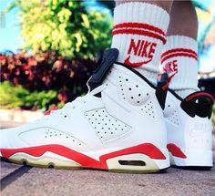 online store 50eeb c58d0 Air Jordan 6 White Red