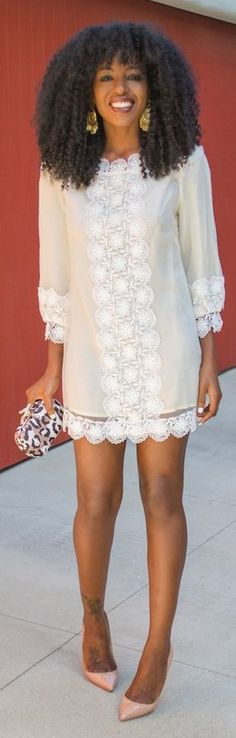 Lovers + Friends White Embroidered Mesh Romantic Dress by Style Pantry