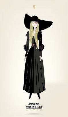 Zoe Benson / American Horror Story Art Print by Patricio Oliver | Society6