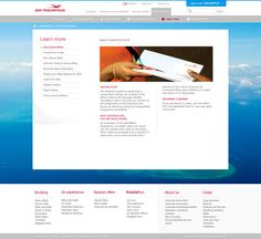 airmauritius.com on Web Design Served