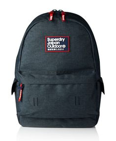 Shop Superdry Mens Super Marl Montana Rucksack in Dark Marl. Buy now with  free delivery from the Official Superdry Store.