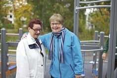 #Seniorielämää Eloisa-kodissa: Eloisa-kodin asukkaita #seniorikoti #senioriasunto