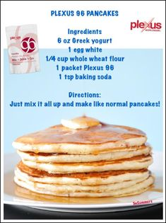 Great way to get your protein in and make a meal out of your Plexus p96.                                                                                                                                                                                 More