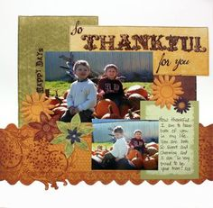 Love this...will have to get some good pictures at the pumpkin patch this year.