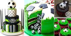 Les 28 plus beaux gâteaux de soccer! Plus des mini tutoriels photos! Football - Bricolages - Trucs et Bricolages