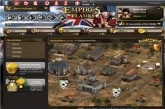 Empires in Flames - Errichte Kasernen und Produktionsstätten