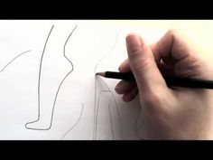 Sketching Shoes, Tutorial 2~2, Modifying Your Foot Template - YouTube