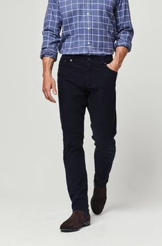 Blenheim Navy Cord Trouser