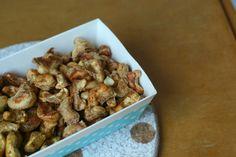 DIY roasted cashews