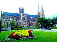 ST Marys Cathedral offers free tours Sundays at noon
