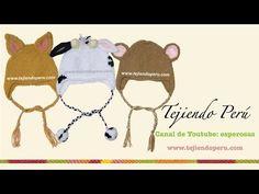 Gorritos con orejas de animalitos - Tejiendo Perú