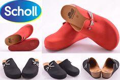 Scholl női papucsok piros és fekete színben is megérkeztek 4ef11d051e