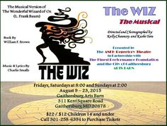 'The Wiz' Eases on Down to The Gaithersburg Arts Barn From August 7th-23rd by Laura Andruski
