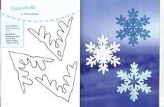 20 csodaszép kivágható hópehely sablon