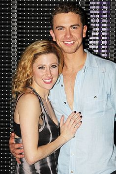 Caissie Levy and Richard Fleeshman of GHOST