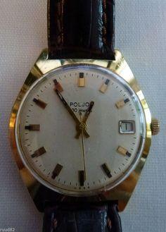 Poljot russian automatic wristwatch, 30 jewels (!!!) movement - great condition