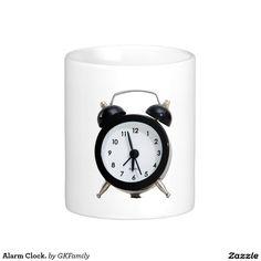 Alarm Clock. Classic White Coffee Mug