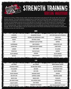 Warrior Dash: A descriptive training plan to better prepare! Warrior Dash 2014 here we come!!